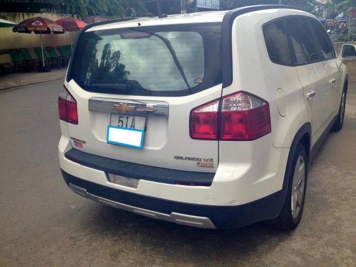 Gia đình ít sử dụng cần bán xe 7 chỗ Chevrolet Orlando, sản xuất 2013