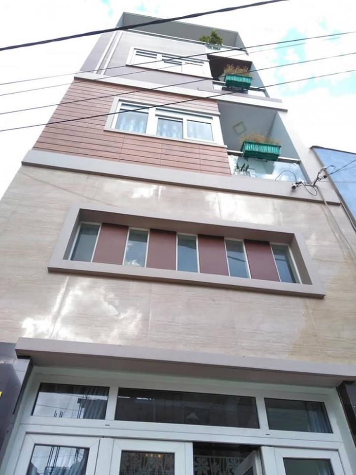 Bán nhà 5 tầng mới xây Quận Tân Bình, S=55m2
