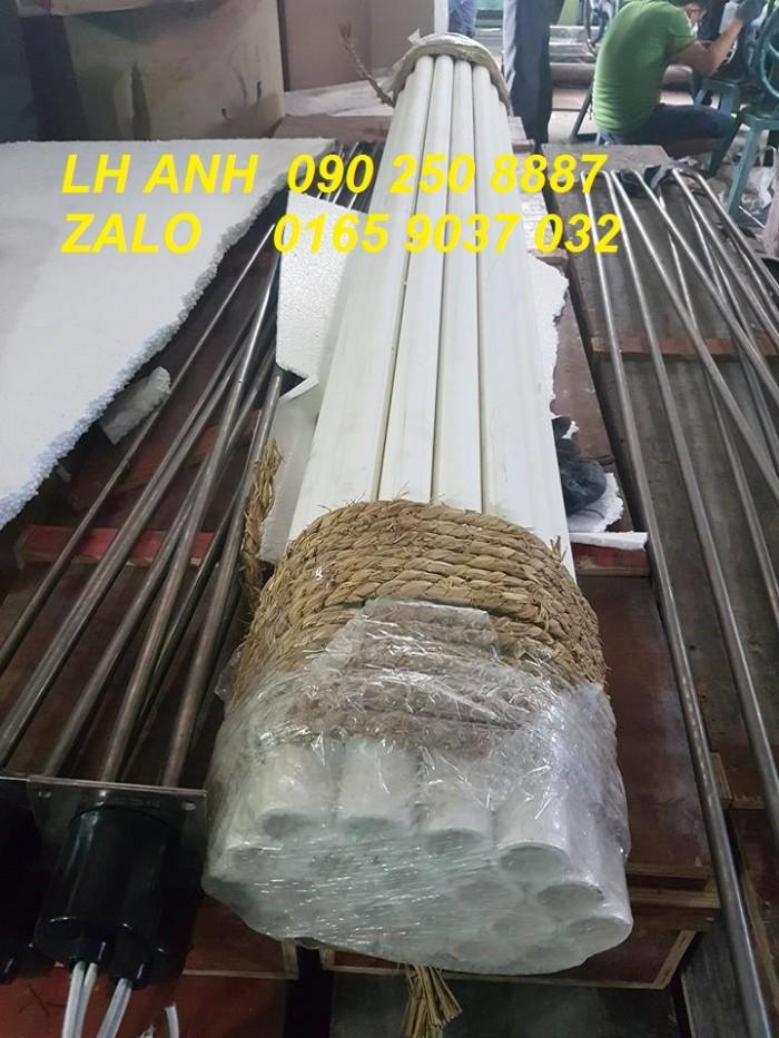 Ống sứ Phi ngoài 42chịu nhiệt 1600độ C1