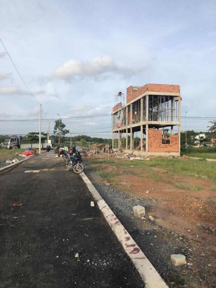 Bán đất nền giá chỉ 749 triệu bao giấy phép xây dựng nằm trên mặt tiền đường huỳnh văn nghệ.