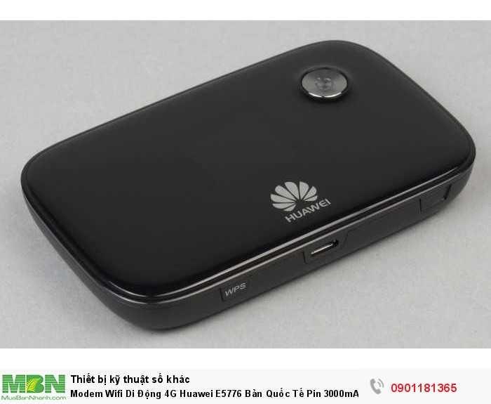 Wifi 4G Lte Huawei E5776  là thiết bị phát sóng wifi từ Sim 3G/4G đẳng cấp và sang trọng