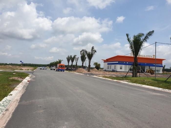 Bán đất trung tâm huyện Nhơn Trạch, DT 100M2, Sổ đỏ Thổ cư 100%