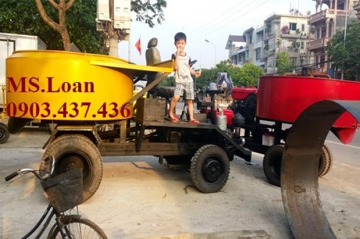 Báo giá Máy trộn bê tông tự hành 6 bao 1 cầu giá rẻ tại Hà Nội