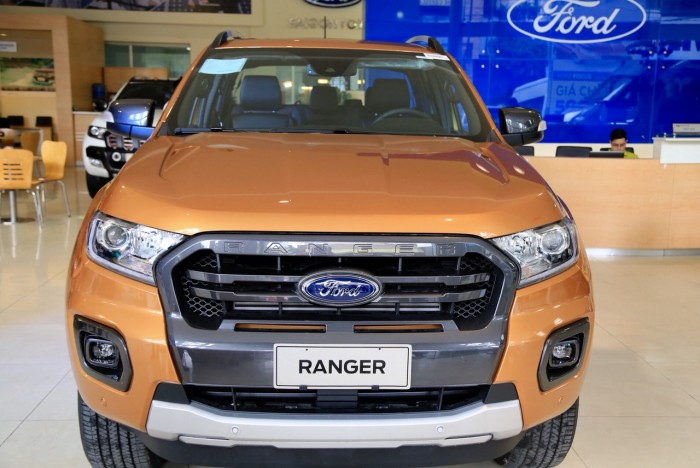 Ford Ranger Wildtrak 2.0L 4x4 Turbo kép, đủ màu giao ngay, hộp số 10 cấp, hỗ trợ vay đến 80%, lãi suất ưu đãi