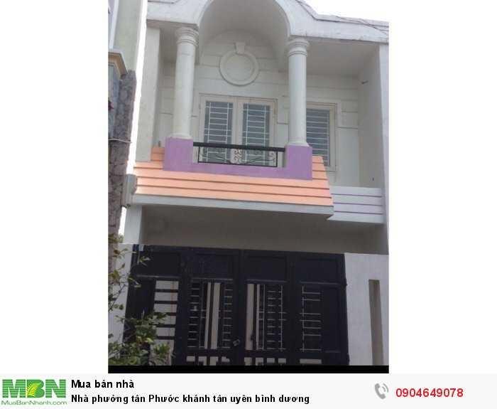 Nhà Phường Tân Phước Khánh Tân Uyên Bình Dương