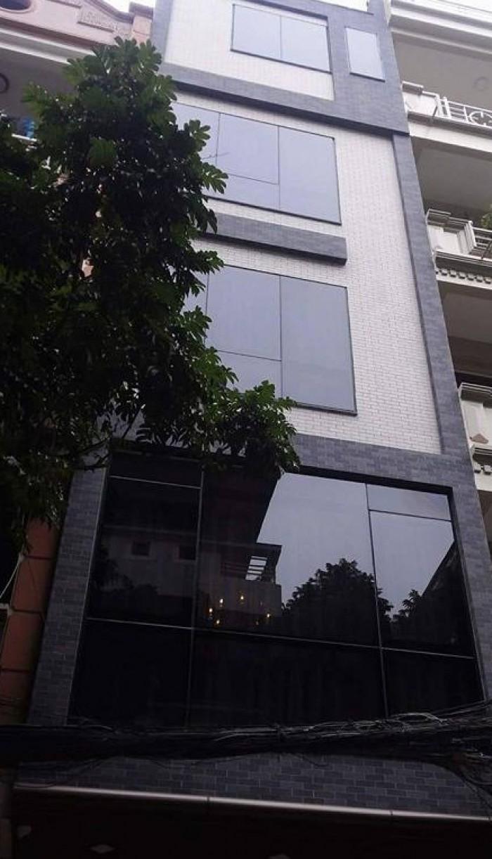 Bán nhà phố Nguyễn Thái Học, DT 56m, 4 tầng, MT 4,5 m ô to tránh, kinh doanh đỉnh