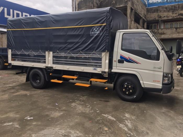 Khuyến mãi mua xe tải Hyundai IZ49 2.5 tấn thùng mui bạt rẻ nhất miền Nam - Hyundai Vũ Hùng cam kết trả trước 50 triệu giao xe ngay