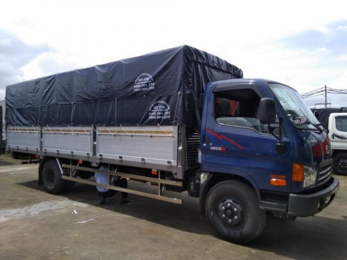 Giá xe tải Hyundai HD120SL 8 tấn thùng mui bạt rẻ nhất miền Nam, trả trước 100 triệu giao luôn xe - Gọi 0933638116 (Mr Hùng 24/24)