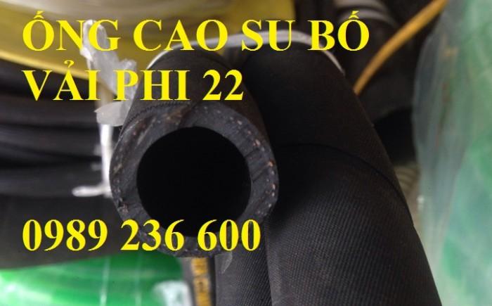 Ống cao su bố vải phi 25 (D25) dẫn khí, dẫn nước chịu nhiệt độ áp lực.
