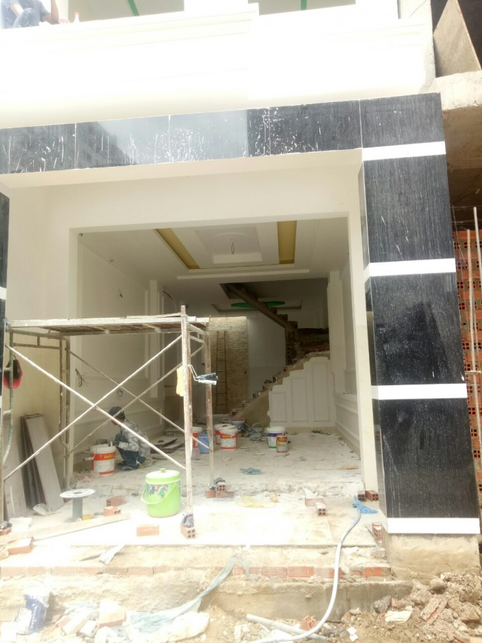 Bán nhà 1 trệt 3 lầu sau lưng chung cư 4S đường 30 Linh Đông quận Thủ Đức