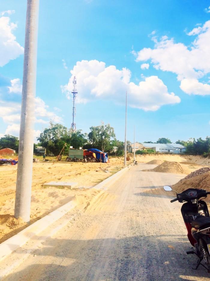 Bán đất mặt tiền chợ thuộc dự án Phố Chợ Điện Nam Đông