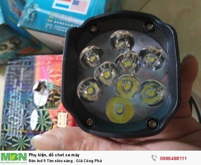 Đèn led 9 Tim siêu sáng - Giá Công Phá