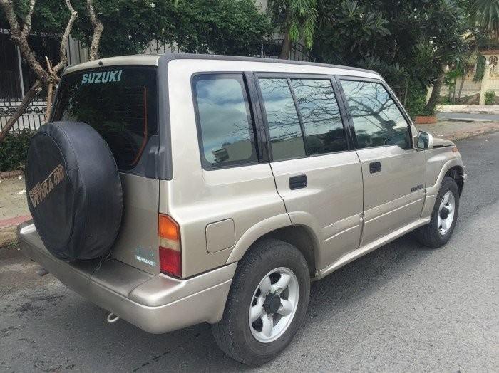 Bán xe Suzuki Vitara 2003 màu ghi hồng số sàn,VN lắp ráp