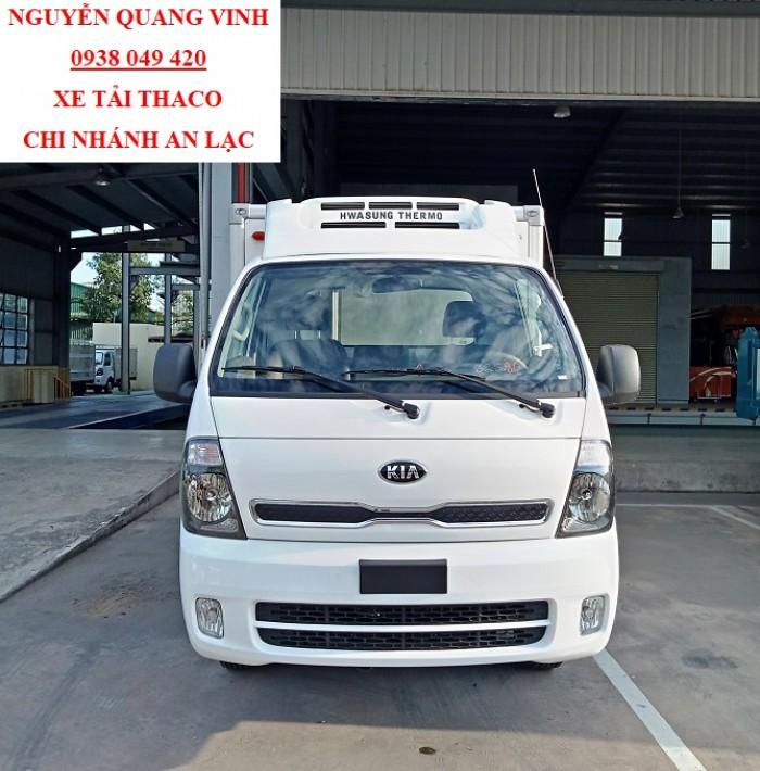 Xe Động Lạnh - Kia K250 Thaco Trường Hải - Tải Trọng 1tấn9 - Bán Xe Trả Góp 6