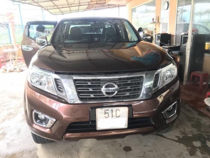Bán Nissan Navara SL MT 4WD 2016, màu nâu, đúng chất, giá TL, hổ trợ góp