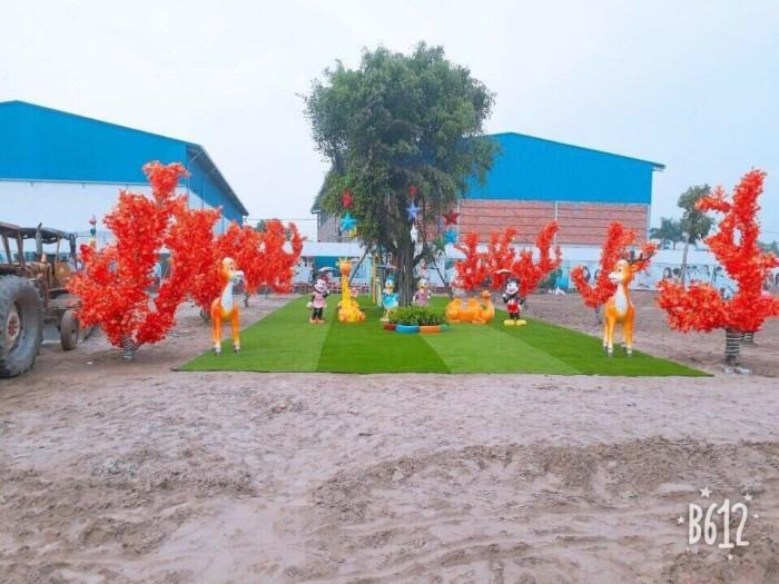 Khu Dân Cư Phú Hoà - Mặt Tiền Tỉnh Lộ 10 Còn 1 Lô Góc Thị Trấn Đức Hòa, Long An
