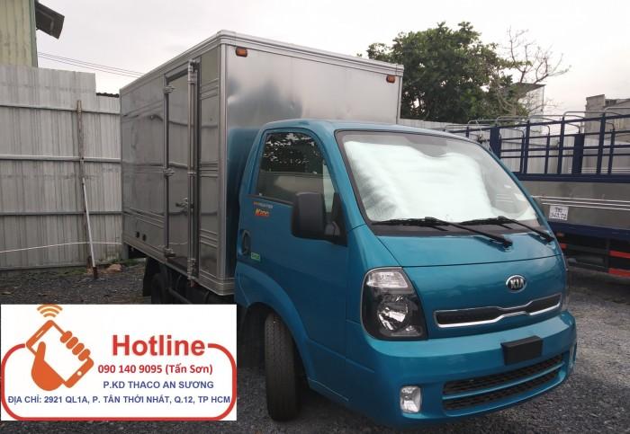 Xe tai 1T49 và 2T49 máy Hyundai xe tải thaco Kia K250 doi 2018 thùng kín giao ngay