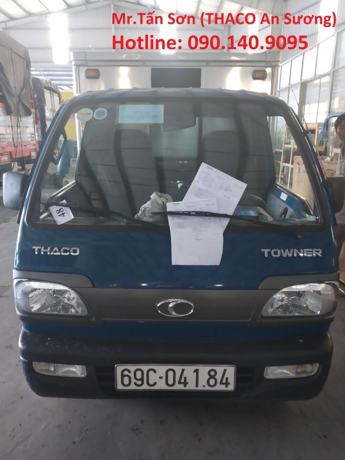 Xe tải Thaco towner 800 và Towner 900 sử đụng động cơ theo tiêu chuẩn khí thải euro 4