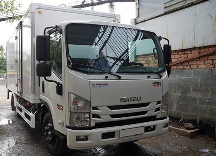 Mua xe tải isuzu 3.5 tấn thùng kín inox có bửng nâng, trả trước 100 triệu, giao xe ngay - Gọi 0978015468 (Mr Giang 24/24)
