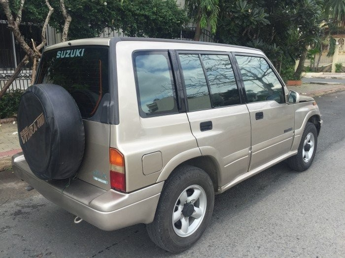 Bán xe Suzuki Vitara 2003 màu ghi hồng số sàn, hai cầu