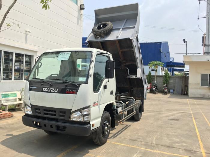 Giá xe tải ben isuzu 2t4 - Trả trước 100 triệu giao xe luôn - Gọi 0978015468 (Mr Giang 24/24)