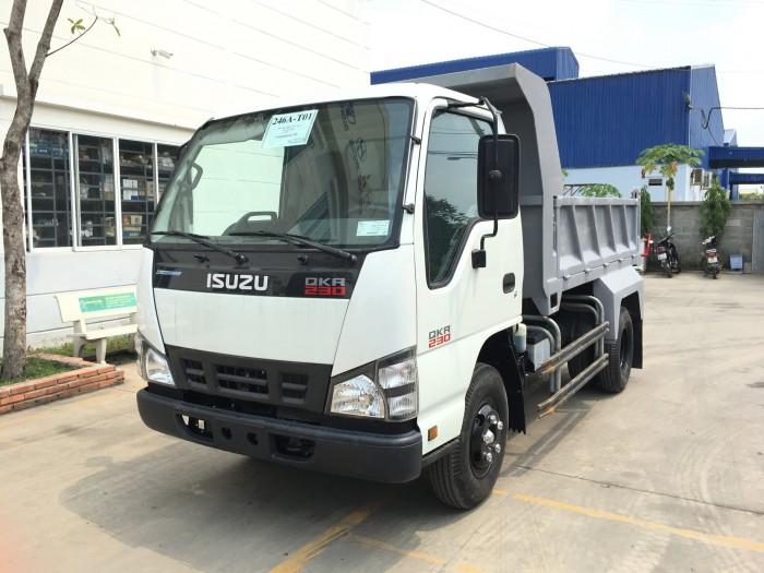 Xe tải ben isuzu 2t4 - Trả trước 100 triệu giao xe luôn - Gọi 0978015468 (Mr Giang 24/24)