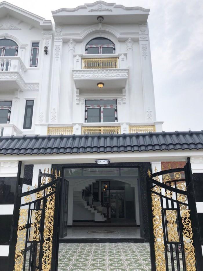 Bán nhà DT 5x16m, Giá 4.65 tỷ, Hẻm xe hơi 8m, Huỳnh Tấn Phát, TT Nhà Bè