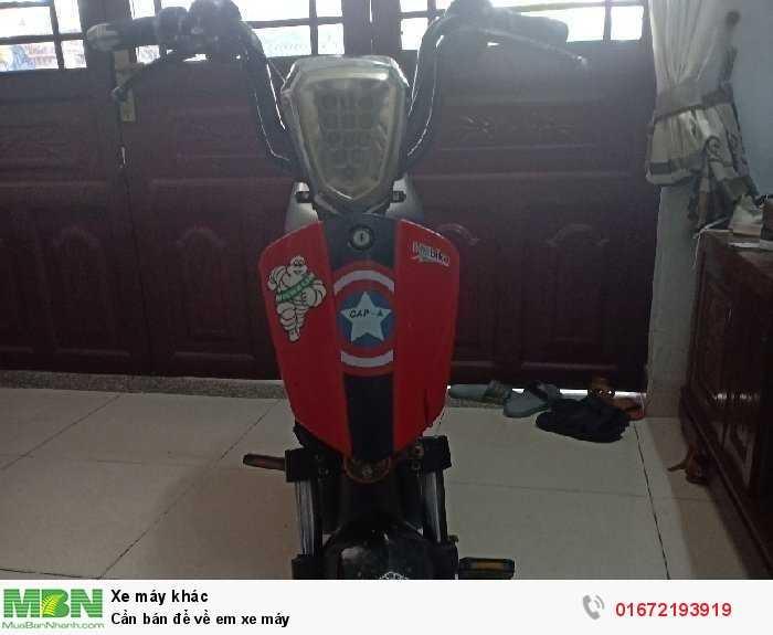 Cần bán để về em xe máy