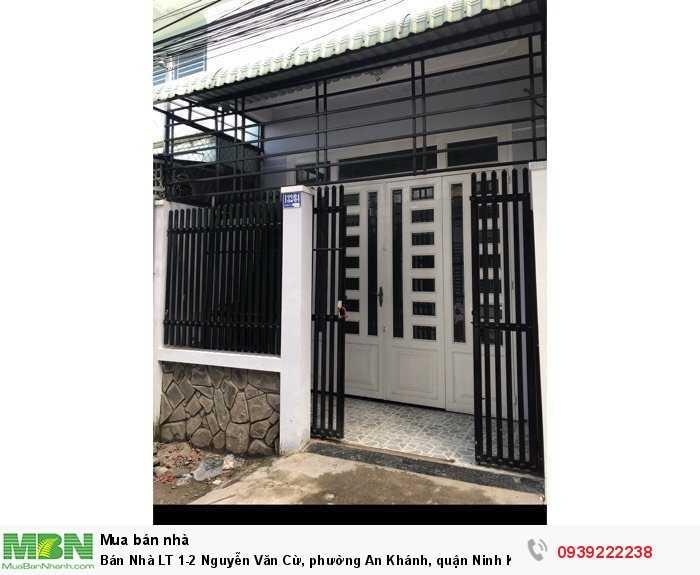 Bán Nhà  LT 1-2 Nguyễn Văn Cừ, phường An Khánh, quận Ninh Kiều, số 132/84