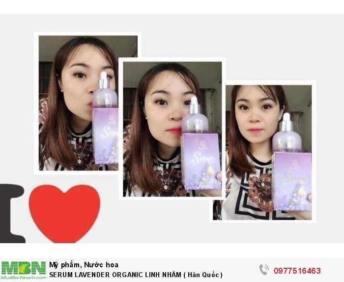 Serum Lavender Organic Linh Nhâm ( Hàn Quốc )