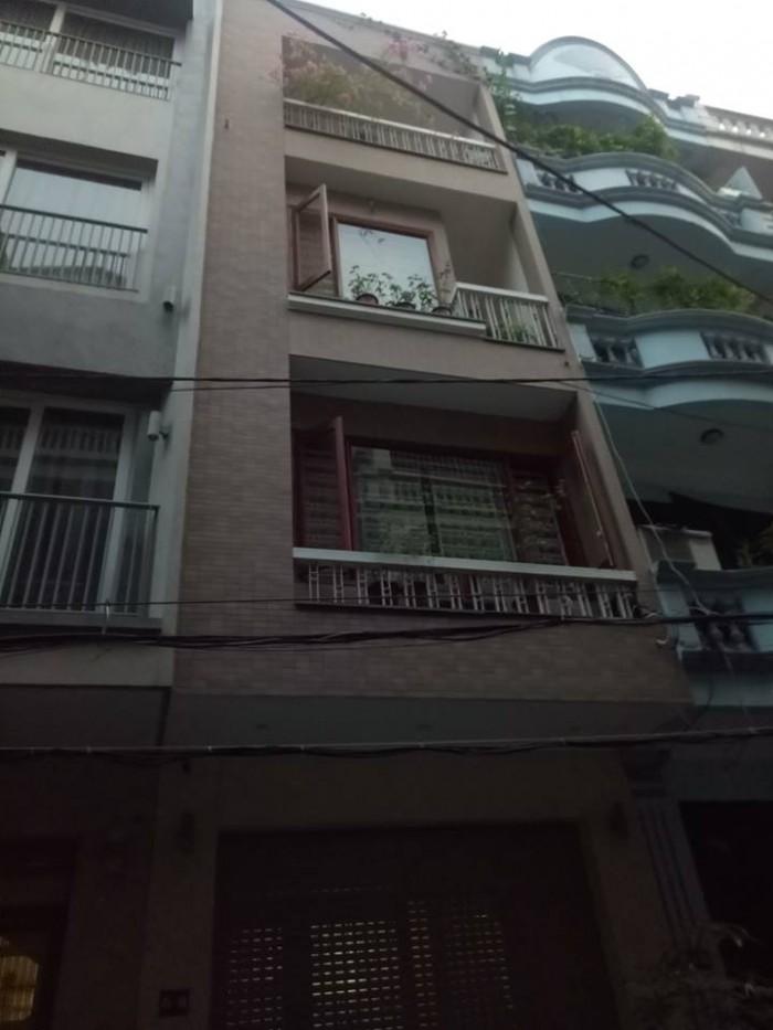 Bán nhà mặt ngõ oto Trần Quang Diệu, DT 59 m*4 tầng, mặt tiền 4,6 m.