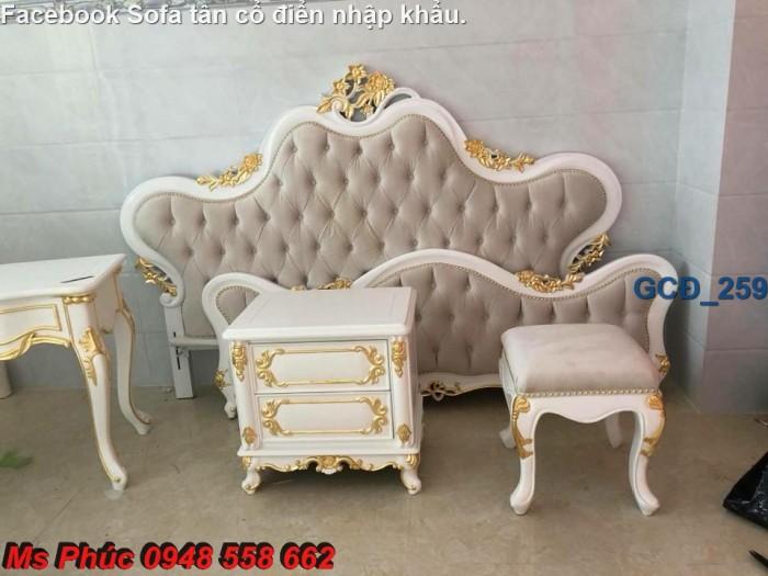 Đặt mua bộ giường ngủ cổ điển màu trắng cao cấp ms 263 giá rẻ tại xưởng, chiết khấu cao cho cửa hàng31