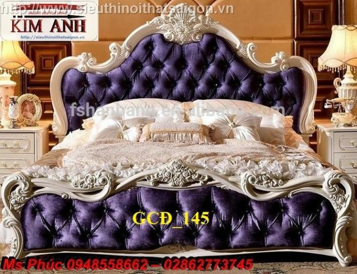 Đặt mua bộ giường ngủ cổ điển màu trắng cao cấp ms 263 giá rẻ tại xưởng, chiết khấu cao cho cửa hàng17