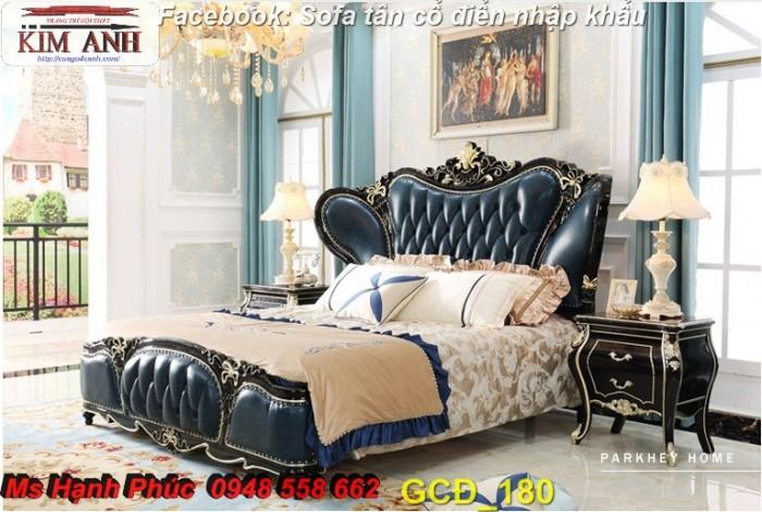 Đặt mua bộ giường ngủ cổ điển màu trắng cao cấp ms 263 giá rẻ tại xưởng, chiết khấu cao cho cửa hàng16