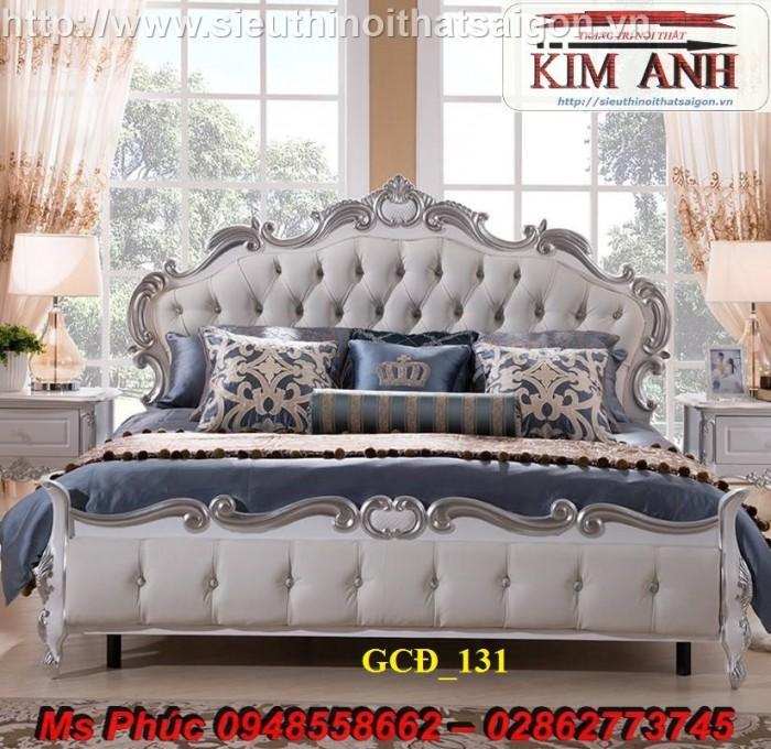 Đặt mua bộ giường ngủ cổ điển màu trắng cao cấp ms 263 giá rẻ tại xưởng, chiết khấu cao cho cửa hàng9
