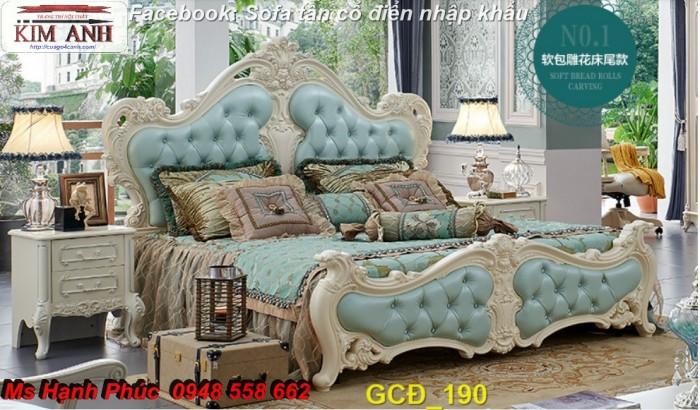 giường ngủ cổ điển giá rẻ hcm2