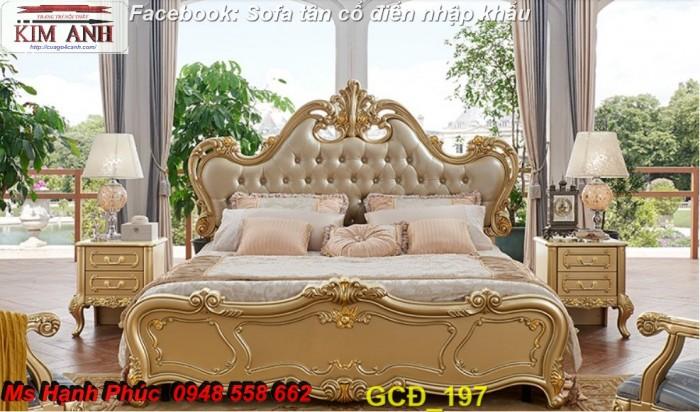giường ngủ cổ điển giá rẻ Cần thơ3