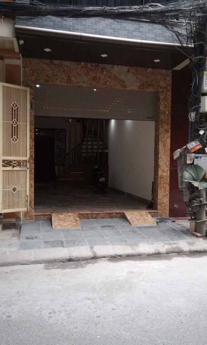 Bán Nhà 6 Tầng Phân Lô Kinh Doanh Có Vỉa Hè Phố Trung Kính Quận Cầu Giấy