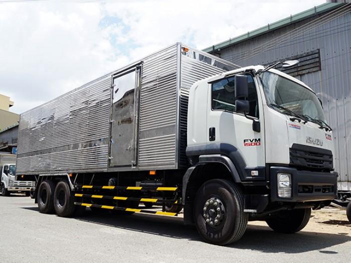 Bán xe tải isuzu 15 tấn thùng kín inox - Trả trước 200 triệu,giao xe ngay - Gọi 0978015468 (Mr Giang 24/24)