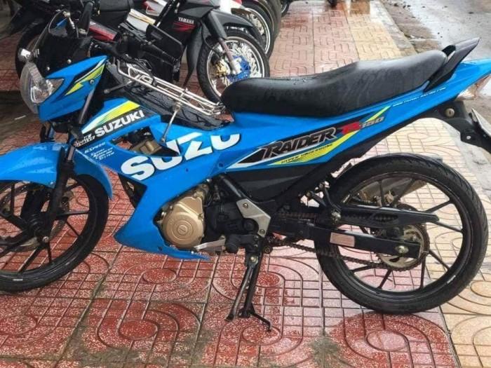 Suzuki Raider 150 bán trả góp không cần chứng minh thu nhập