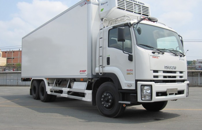 Khuyến mãi mua xe tải isuzu 15 tấn thùng đông lạnh - Trả trước 200 triệu giao luôn xe - Gọi 0978015468 (Mr Giang 24/24)