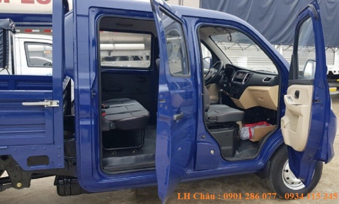 Bán Xe Trường Giang T3 cabin kép 05 chỗ ngồi 660kg/810kg