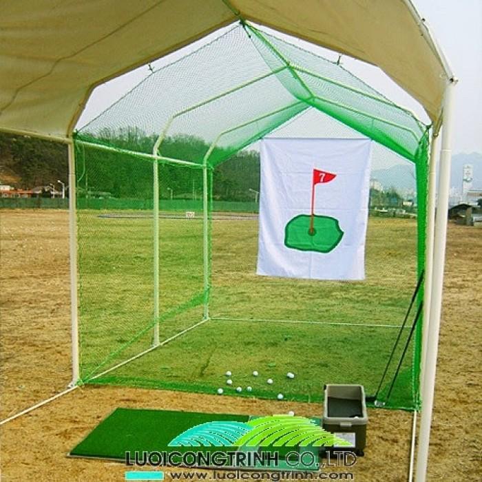 Cần bán khung lều golf, bộ khung lưới tập golf2