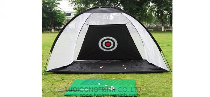Cần bán khung lều golf, bộ khung lưới tập golf1