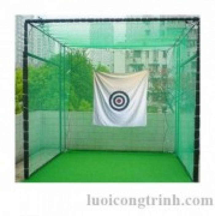 Khung lều golf tập golf tại nhà1