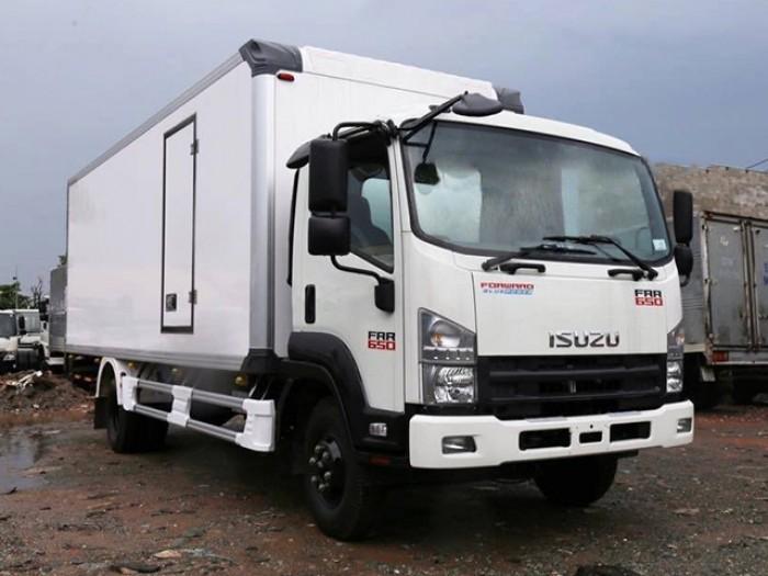 Xe tải isuzu 6t2 thùng đông lạnh - Trả trước 200 triệu giao luôn xe