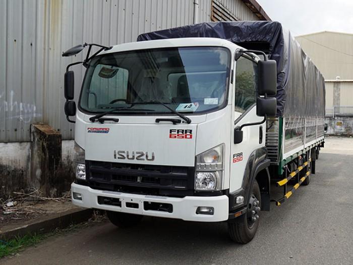 Xe tải isuzu 6t2 thùng mui bạt - Trả trước 100 triệu giao luôn xe - Gọi 0978015468 (Mr Giang 24/24)