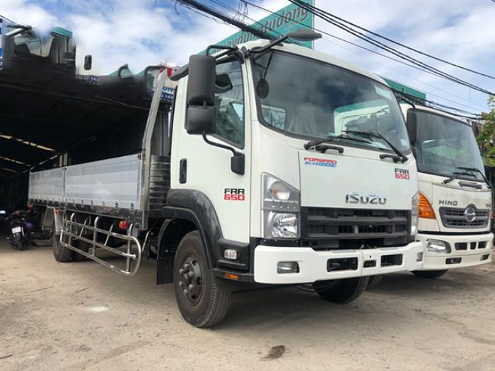 Bán xe tải isuzu 6t2 thùng lửng - Trả trước 100 triệu giao luôn xe - Gọi 0978015468 (Mr Giang 24/24)