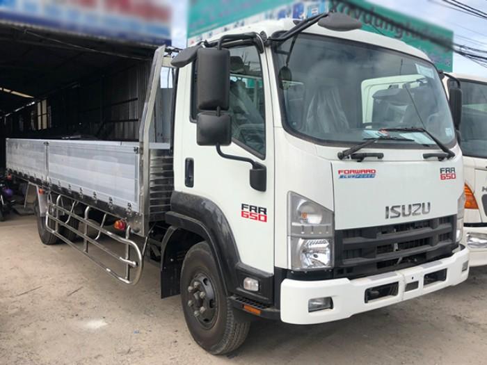 Khuyến mãi mua xe tải isuzu 6t2 thùng lửng - Trả trước 100 triệu giao luôn xe - Gọi 0978015468 (Mr Giang 24/24)