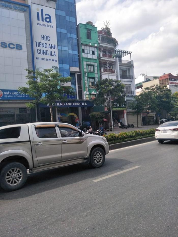 Bán nhà mặt phố Nguyễn Văn Cừ Long Biên diện tích 130m2x6 tầng, kinh doanh khủng